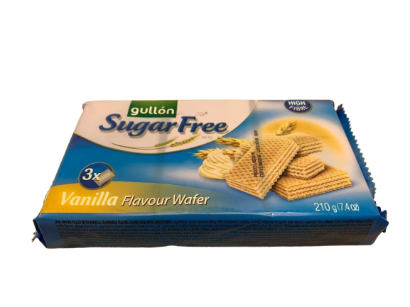 Вафли Gullon б/сахара Vanilla flavour wafer